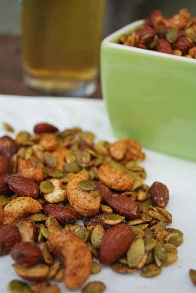 seasoned nuts and seeds