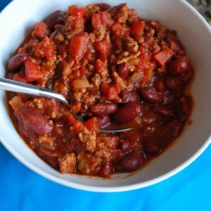 Dinner Tonight: Chili