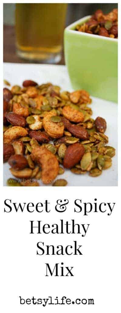 Sweet and Spicy Healthy Snack Mix Recipe