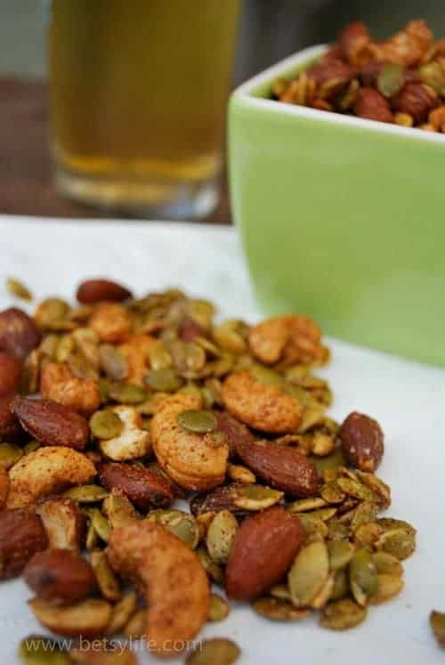 Ultimate Sweet and Spicy Snack Mix