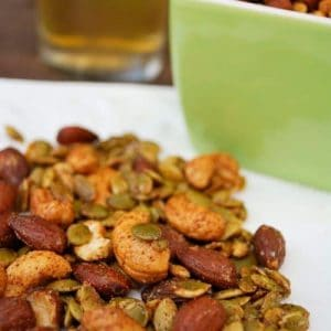 Ultimate Sweet and Spicy Healthy Snack Mix