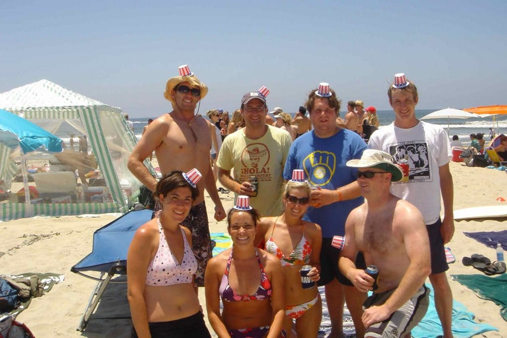4th of July beach party