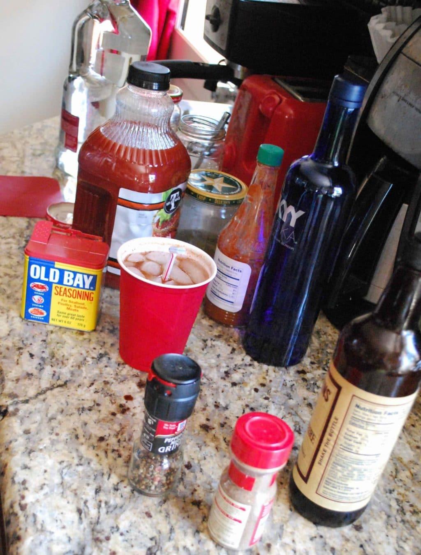 Bloody Mary Bar | Betsylife.com
