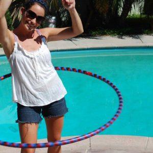 Lovin' my new hula hoop