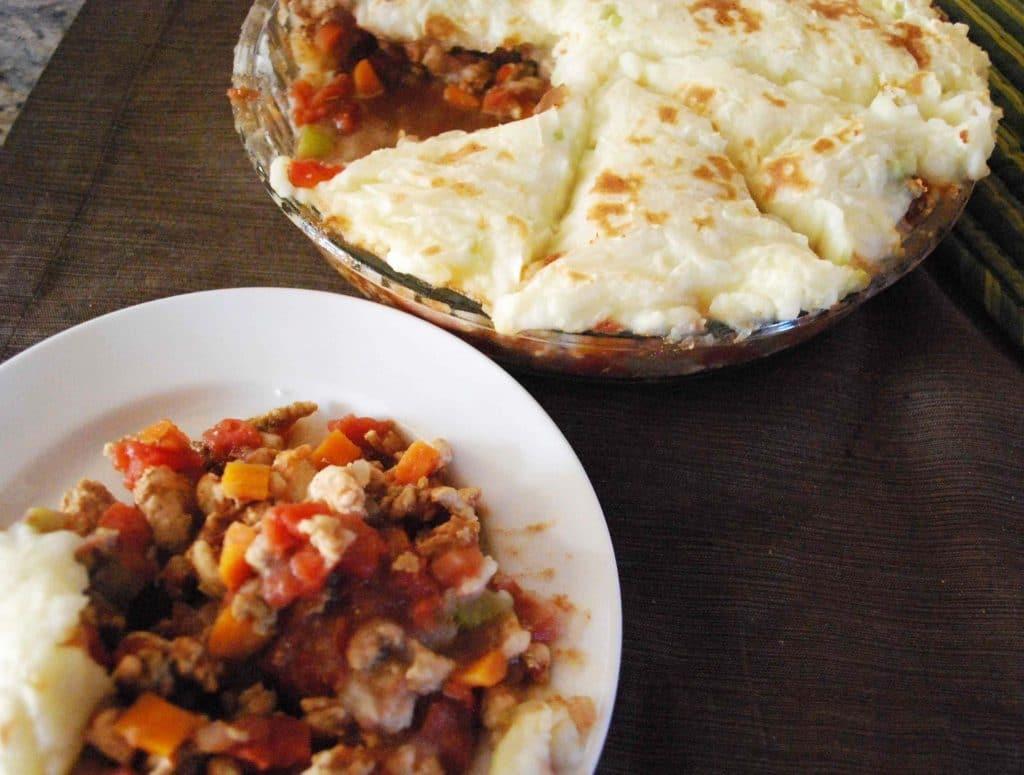 Turkey Shepherds Pie | Betsylife.com