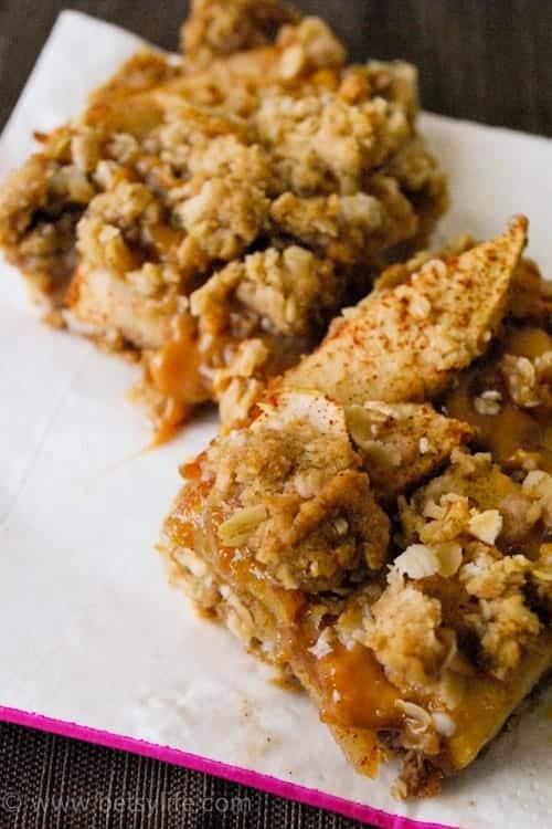 caramel-apple-bars