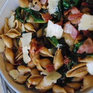 Hearty pasta dish for a cozy Sunday