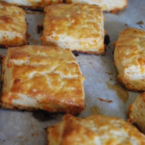 Cheddar Biscuits plus the rest of our super breakfast