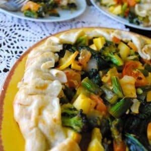 Seasonal Potluck: Vegetable Galette