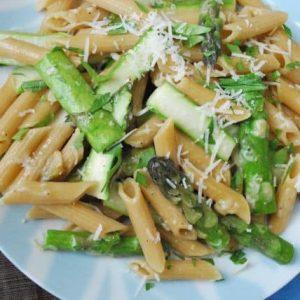 Seasonal Potluck: Asparagus Pasta