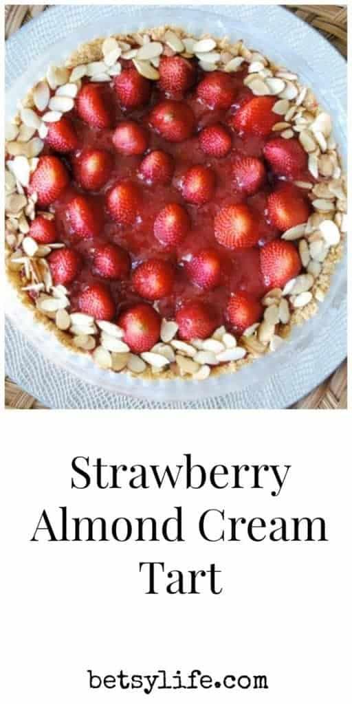 Strawberry Almond Cream Tart