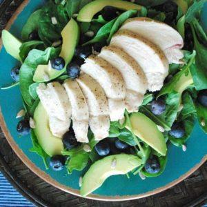 Seasonal Potluck: Blueberry Chicken Salad