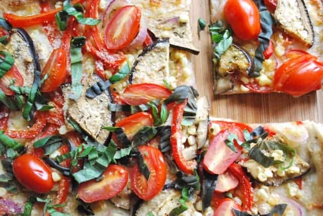 Farmers Market Vegetable Pizza Recipe