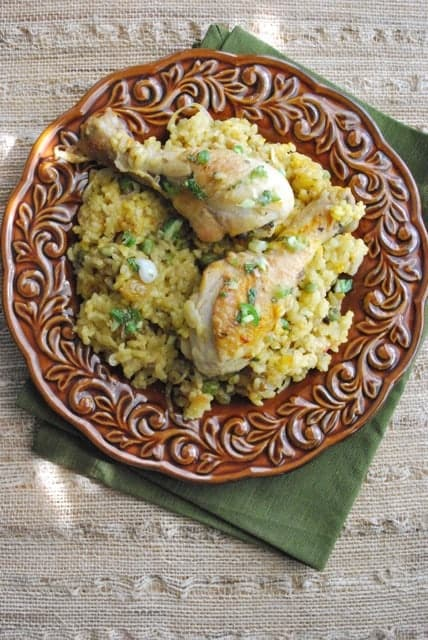 Khao Mok Kai: Thai Spiced Chicken with Rice