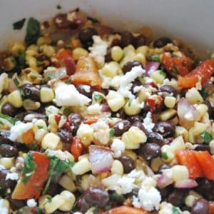 Seasonal Potluck: Spicy Grilled Corn Salad with Queso Fresco