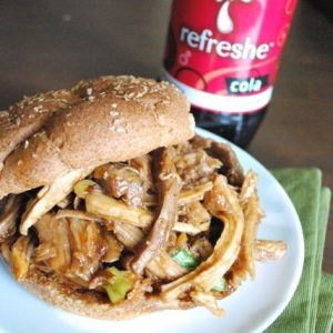 Football Food: Soy and Cola Braised Pork Shoulder