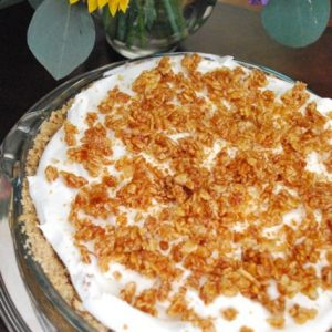 Thanksgiving recap and a Caramel Cream Pie