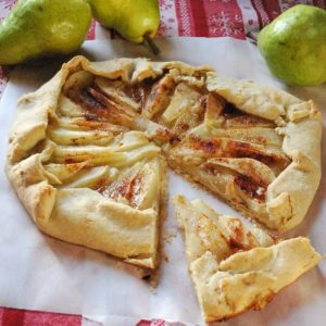 Seasonal Potluck: Almond-Pear Galette