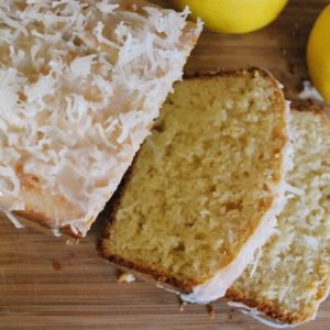 Coconut Lemon Loaf