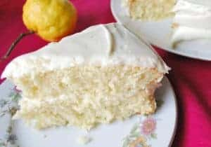 Seasonal Potluck: Lemonade Layer Cake