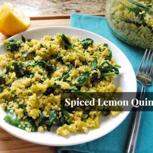 Seasonal Potluck: Spiced Lemon Quinoa