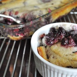 Fast and Easy Mixed Berry Cobbler