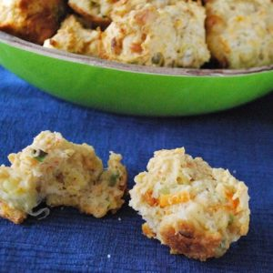 Spiced Carrot Scones