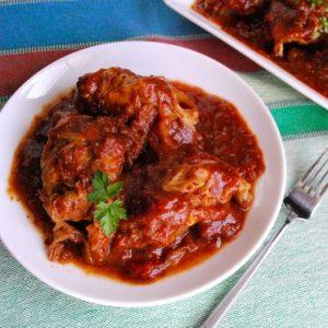 SRC: Spicy BBQ Cabbage Rolls