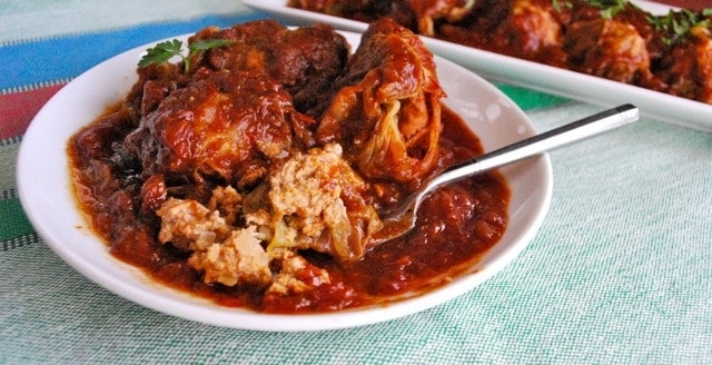Spicy BBQ Cabbage Rolls Recipe