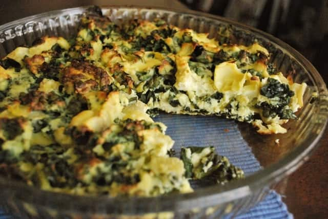 Artichoke, Kale and Ricotta Pie | BetsyLife