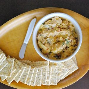 Sun-Dried Tomato and Artichoke Dip