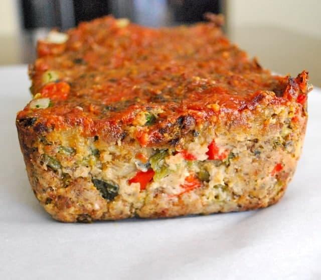 Vegetarian Meatless Meatloaf
