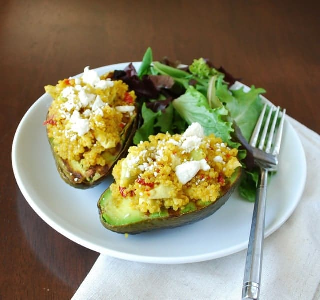 Grilled Stuffed Avocado