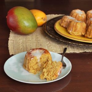 Mini Mango Bundt Cakes