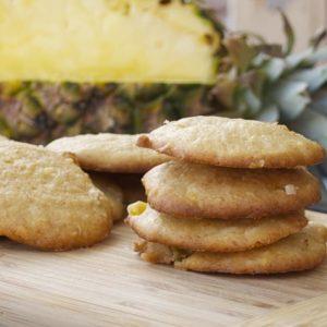 Pineapple Coconut Cookies