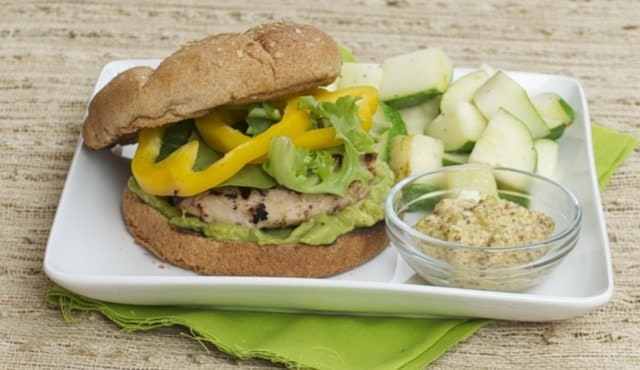 Mustard Turkey Burgers Recipe — Dishmaps