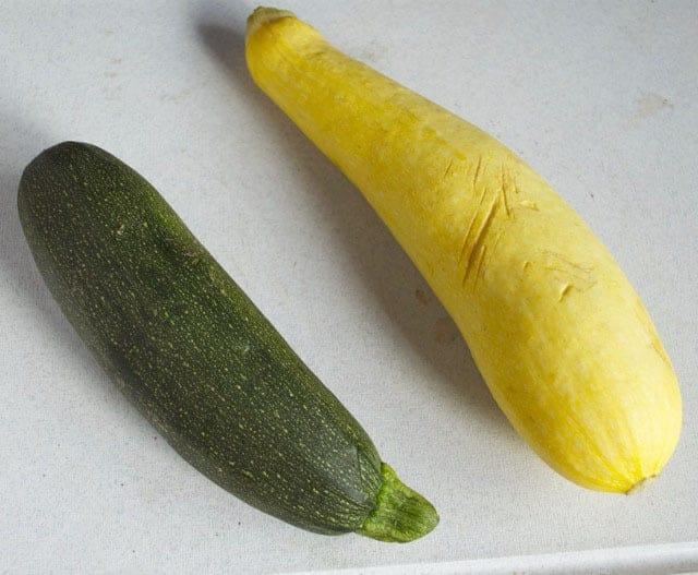 Summer Squash Salad with Crispy Prosciutto