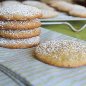 Lemongrass Ginger Cookies