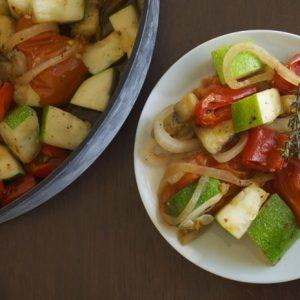 Simple Roasted Summer Vegetables