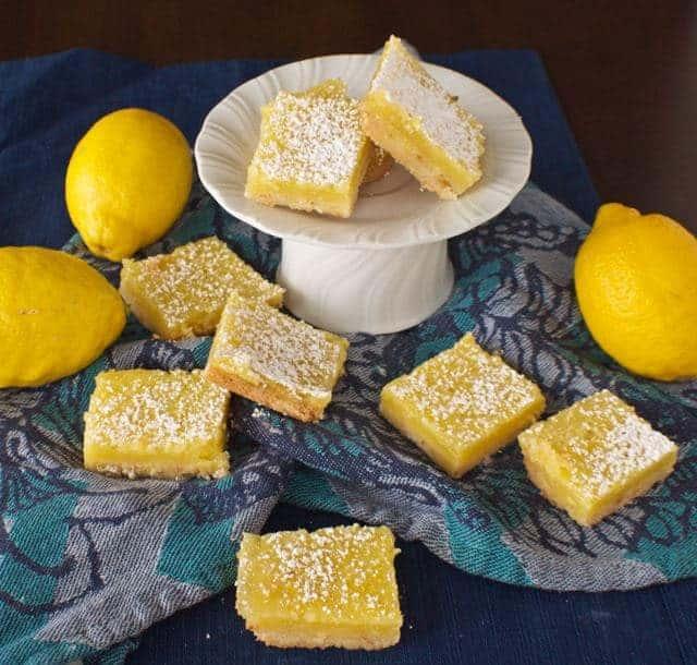 Light Lemon Squares