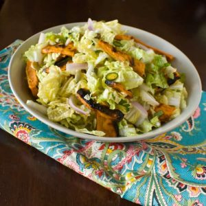 Salad of the week: Grilled Sweet Potato and Cabbage