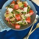 Summer Pea and Watermelon Salad Recipe