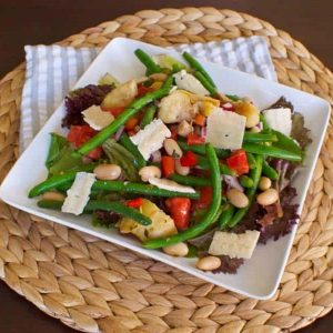 Salad of the Week: Bean Salad with Herb Dressing