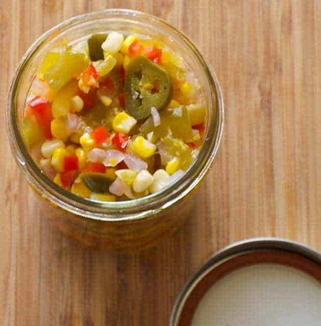 Sweet and Spicy Corn Relish | BetsyLife