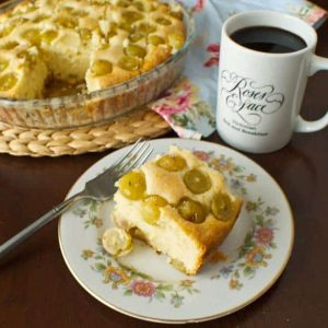 Grape Breakfast Cake and a Giveaway!