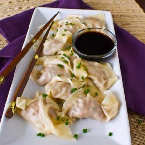 Healthy Turkey Potstickers