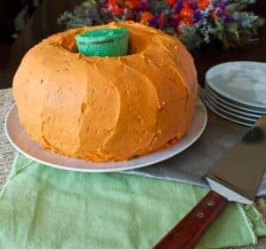 Double Bundt Pumpkin Cake