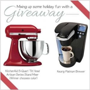 Holiday Gift Guide and a KitchenAid and Keurig Giveaway!