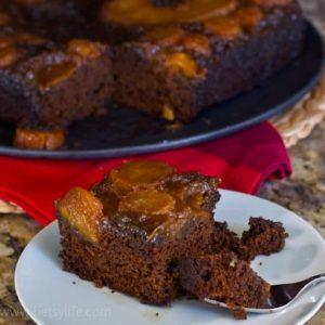 Gingerbread Pineapple Upside-Down Cake