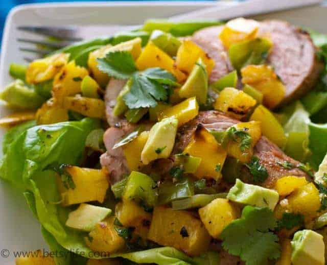 Pork, Pineapple and Chili Salad